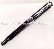 Czech crystal metal roller ball pen