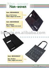Black Non Woven Document Bag