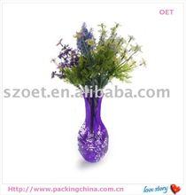 PP,PET.PVC flower bag , Pop up vase,fashion design, popular in many country