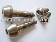 Titanium Tapered Hex Socket Cap screw