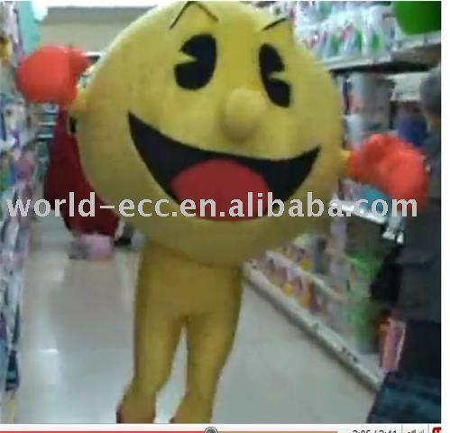 Carnaval costume de mascotte, costume cartoon movie, costume de fantaisie