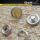 metal button decorative fasteners