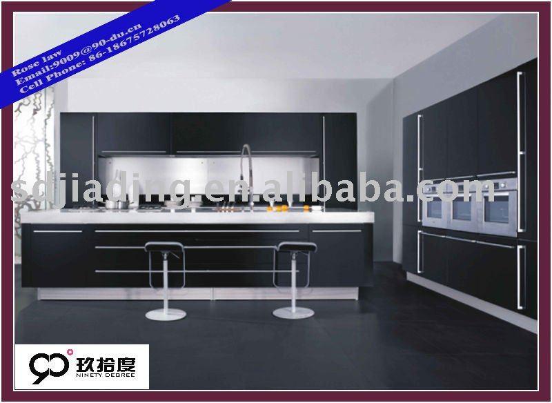 Laminate kitchen cabinet veneer kitchen furniture