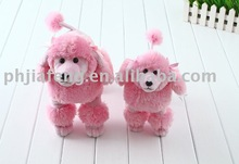 standing pricess pink puppy