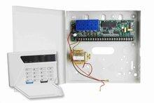 16 zones bus alarm control panel system