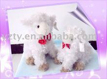 YangZhou factory supply plush and stuffed animal lamb toy