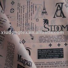 R1055 100%polyester taffeta printed garment lining