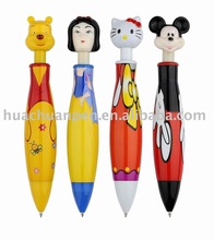 novelty character pens for promotional