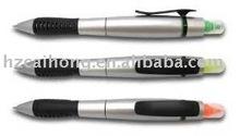 combo highlighter & ball pen 2 in 1 promotional gift