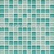Crystal Glass Mosaic Exterior Wall Tile 25x25x4mm M4CB401