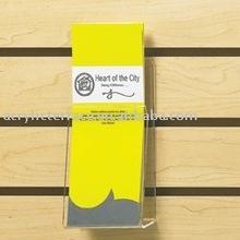 Slatwall Acrylic Expanding Pamphlet Pocket