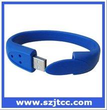 USB Flash Drive Wristband 4GB 8GB, Hand Band USB Flash Drive, Silicone USB Bracelet