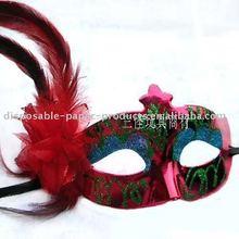 decoration flower mask