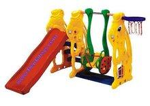 Plastic mini slide and Swing BD-DD755