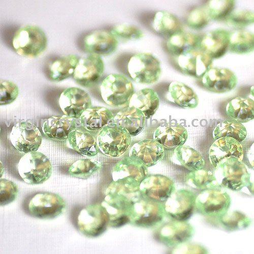 Acrylic diamond Wedding party table decoration