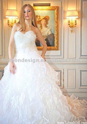AWD138 2011 new coming Lebanon wedding dress