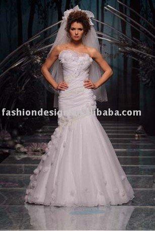 AWD168 2011 custom made beautiful Lebanon wedding dress