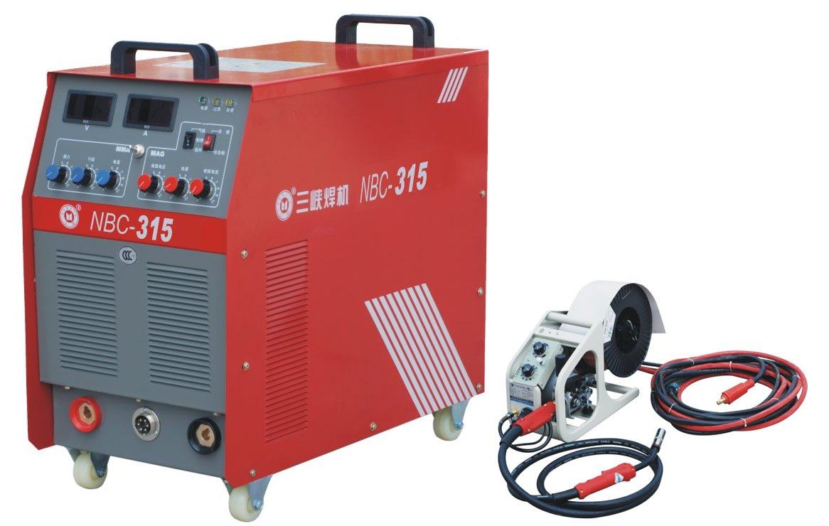 NBC AC 200 MAG MIG and MMA welding machine Series IGBT Inverter CO2 gas