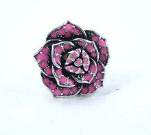 Fine Rose Metal Rings, nickle free&lead free