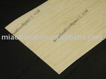 bamboo veneer vertical natural for skateboard deck (P-15)