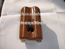 Best price!!! Brown color 11kv porcelain stay type insulator 54-2