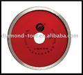 círculo de cerámica diamante hoja de sierra para la talla del surco