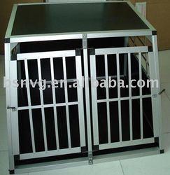 Aluminium dog cage