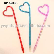 heart promotional ball pen