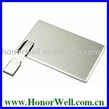 brand new premium metal card 16gb usb flash drive