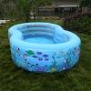 inflatable slide pool
