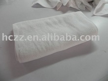 plain hand towel with hotel
