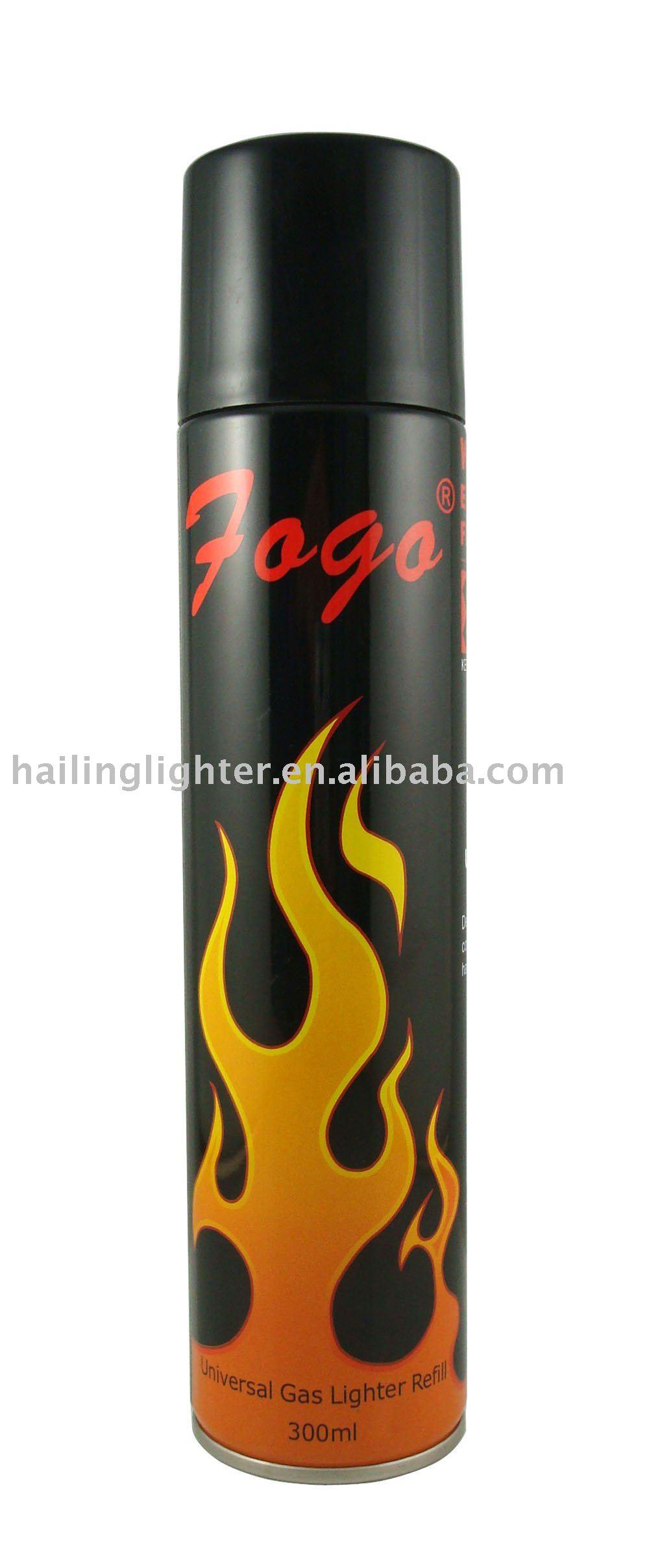 Refillable Cigarette Lighter Butane Lighter Gas Refill