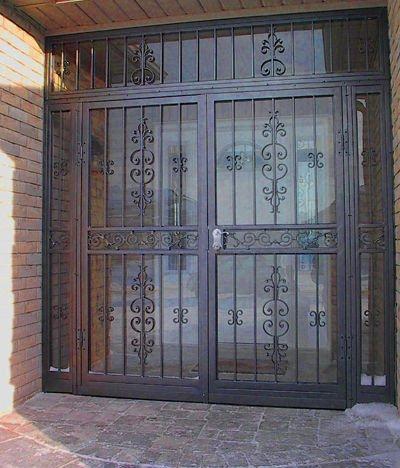 Unique Entry Doors on Custom Entry Iron Door Photo  Detailed About Custom Entry Iron Door