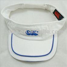 2012 fashion sun visor cap with tone colors front peak