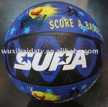 7# rubber basketball