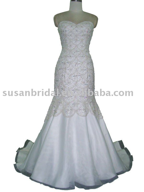 fishtail wedding dresses on Beaded Fishtail Bridal Dress Sales  Buy Beaded Fishtail Bridal Dress