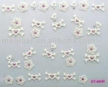 luminated nail sticker(white)