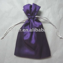 chinese satin jewelry drawstring pouch
