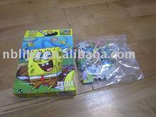 100 pcs puzzle game paper puzzle
