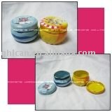Delicate healthcare cosmetic can