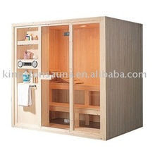 Pine wood steam sauna room/cabin