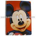 Mickey mouse notebook - mickey cuaderno de espiral
