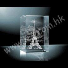 Eiffel Tower Crystal Model A