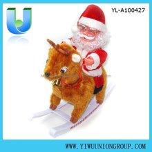 Santa Claus Ride Deer