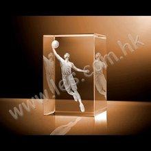 Basketball Player Crystal
