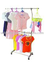 Single-pole Extensible Cloth Hanger