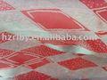 de polipropileno y poliéster tejido jacquard tela del colchón