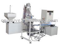 HE-6W Full automatic uploading folding cutting cap molding machine