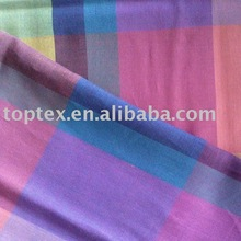 Cotton Yarn Dyed Fabric/Yarn dyed plaid fabric/women's clothes fabric