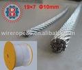 No - de alambre que gira Rope19X7